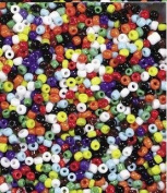 Chenille Kraft Indian Seed Beads - Assorted Colours - 240ml Pack