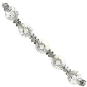 Fiona CBS-24 Crystal Diamond Shape Beads Strands