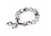 Viva Beads Black Tie Affair Bracelet | Chunky Tie | - Handmade Clay Beads Jewellery 05401824