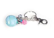 Viva Beads Magical Multi Keychain | Big Ball | - Handmade Clay Beads Jewellery 05704020