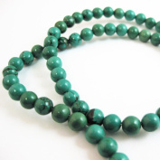 Smooth Round Turquoise Beads - 6mm