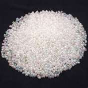 Clear Glass Seed Beads Jewellery Beading 6/0 Approx 350g