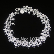 18cm Grape Bracelet Plated 925 Sterling Silver
