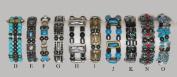 """Magnetic Hematite Bracelet """"G"""""""