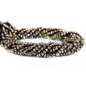 Golden Pyrite Beads Faceted Rondelle