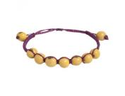 The Andean Collection Costa Bracelet - Acai Fair Trade Jewellery Lemon