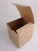 Crafts Vintage Kraft Treat Gift Box 4 X 4 X 4 Pack of 10