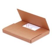 SHPM961K - Kraft Corrugated Bookfolds, 9 5/8 x 6 5/8 x 1 1/4