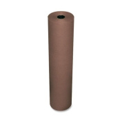 Rainbow Duo-Finish Coloured Kraft Paper, 35 lbs., 36 x 1000 ft, Brown