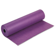 Pacon® - Spectra ArtKraft Duo-Finish Paper, 48 lbs., 90cm x 1000 ft, Purple - Sold As 1 Roll - Heavyweight Duo-Finish® Kraft paper.