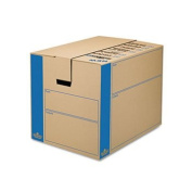 Bankers Box - SmoothMove Moving/Storage Box, Extra Strength, Large, 18w x 24d x 18h, Kraft