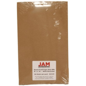 8 1/2 x 14 Legal size 28lb Brown Kraft Paper Bag Recycled Paper - Ream of 500