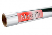 Grafix Silver Metallic Foil Paper Roll 70cm -by-6-Feet