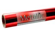 Grafix Red Metallic Foil Paper Roll 70cm by 6-Feet