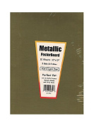 Hygloss Metallic Foil Board gold and silver 25cm . x 33cm . [PACK OF 3 ]