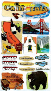 Jolee's Boutique California Stickers