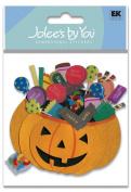 Jolee's Boutique Pumpkin Basket Sticker
