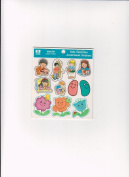 Religious Sunday School Easter Jelly Bean Spring Thanks Prayer 41 Stickers