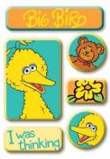 EK Success / Sesame Street Epoxy Stickers BIG BIRD For Scrapbooking, Card Making & Craft Projects