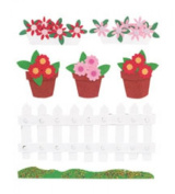 Jolee Boutique Dimensional Stickers Welcome to My garden