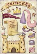Karen Foster Cardstock Stickers-Princess