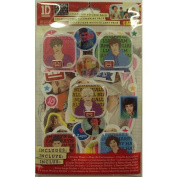 One Direction Collector Sticker Pack of 18 Stickers