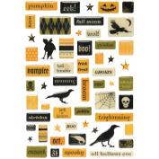 Making Memories Spellbound Epoxy Pebble Stickers - Halloween