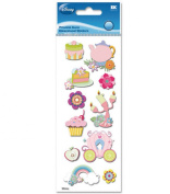 A Touch Of Jolee's Disney(R) Dimensional Stickers - Princess Icons