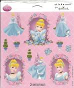 Disney Princess Cinderella Scrapbook Stickers