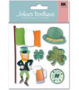 Jolee's Boutique Themed Ornate Stickers-Proud To Be Irish