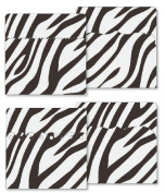 KI Memories - Designer Keepsake Holders - 5 x 5 Pockets - Zebra