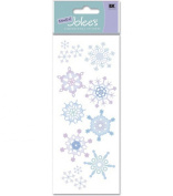 A Touch Of Jolees Dimensional Stickers-Snowflakes