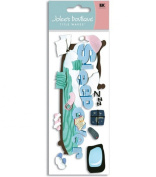 Jolee's Boutique Title Wave Stickers-Sleepover
