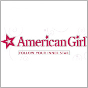 American Girl Crafts Logo Stacked Stickers