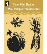 Inkadinkado Clear Mini Stamps, Fall