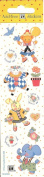 Mary Engelbreit Bear Bunny Flowers Scrapbook Stickers
