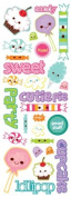 Momenta Puffy Icon Sticker, Sweet Shoppe