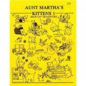 Aunt Martha's Iron-On Transfer Pattern Books-Kittens