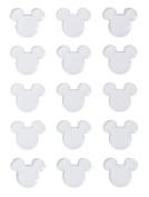 Disney Mickey Icon Clear Epoxy Stickers