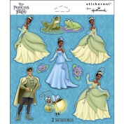Disney Princess and the Frog Scrapbook Stickers