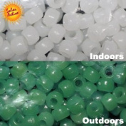 The Original Solaractive® Colour Changing Beads - White to Green 250 per Pack