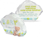 Baby Decorative Resin Sentiment Stone