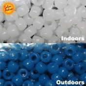 The Original Solaractive® Colour Changing Beads - White to Blue 250 per Pack