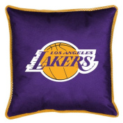 NBA Los Angeles Lakers Sidelines Toss Pillow