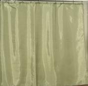 Carnation Home Fashions Anti Mildew Resistant Vinyl Shower Curtain Liner, 180cm by 180cm , Sage