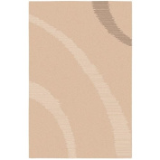 Surya Dusk DSK-6705 Contemporary Hand Knotted 90% Wool / 10% Viscose Beige 1.5m x 2.4m Area Rug