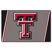 FANMATS NCAA Texas Tech University Red Raiders Nylon Face 4X6 Plush Rug