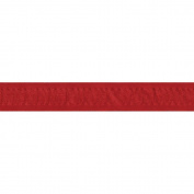Ruched Ruffle Satin Edge Ribbon 2.2cm X30 Yards-Red
