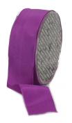 Ampelco Ribbon Company French Wired 27-Yard Taffeta Ribbon, 3.8cm , Purple