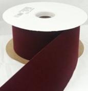 1.6cm x 25 yds Velvet Ribbon-red
